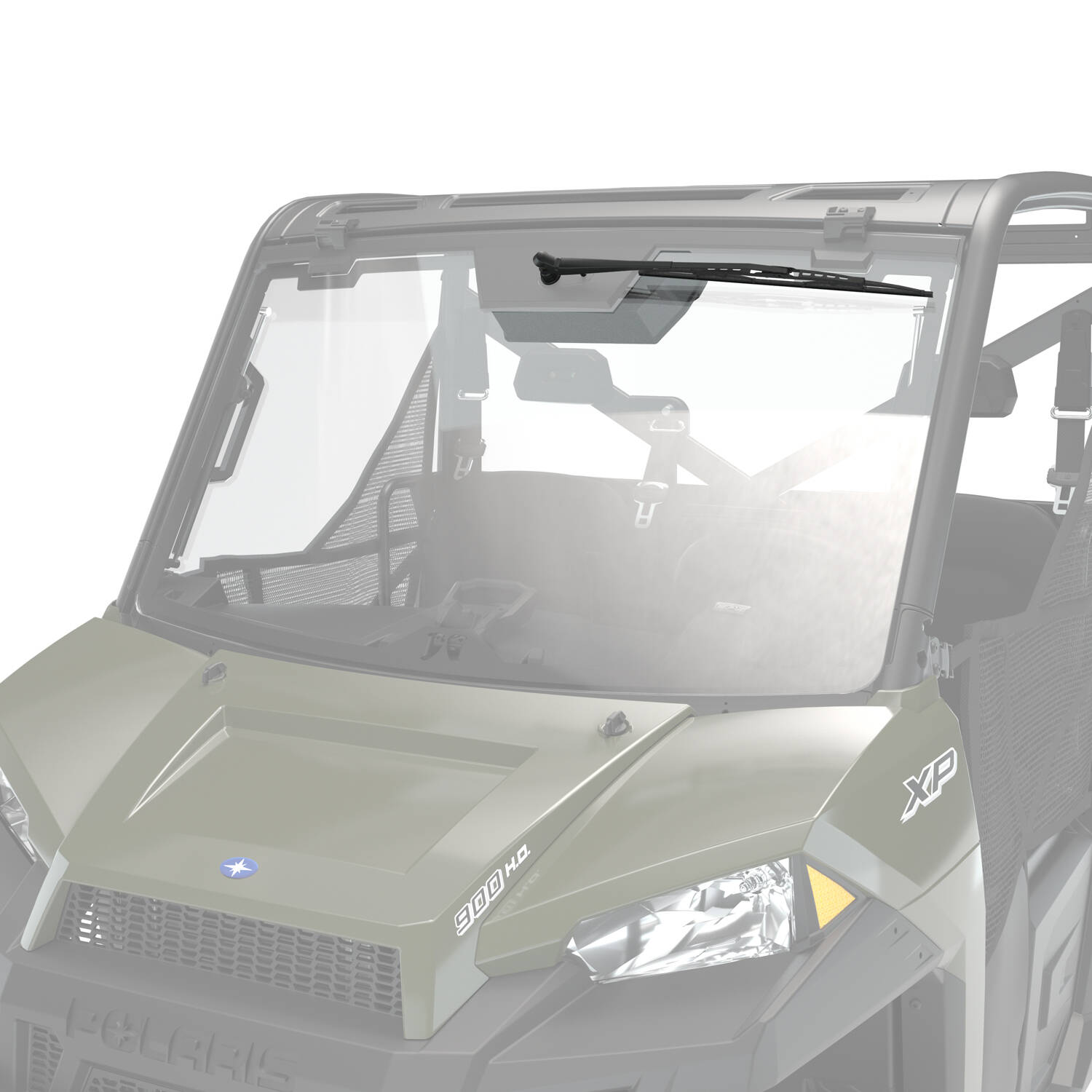 2010 polaris ranger 400 windshield