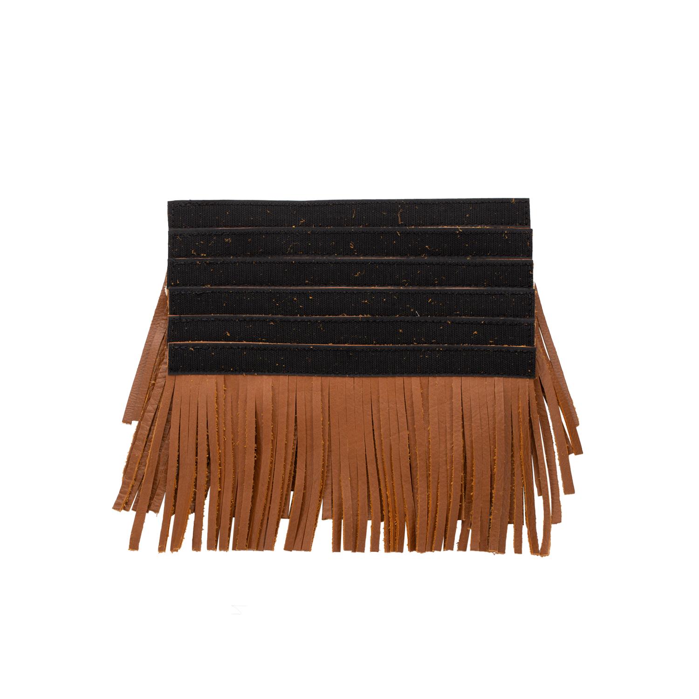 785c140276 Genuine Leather Upper Saddlebag Fringe - Desert Tan
