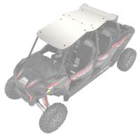 4-Seat Aluminum Roof- White