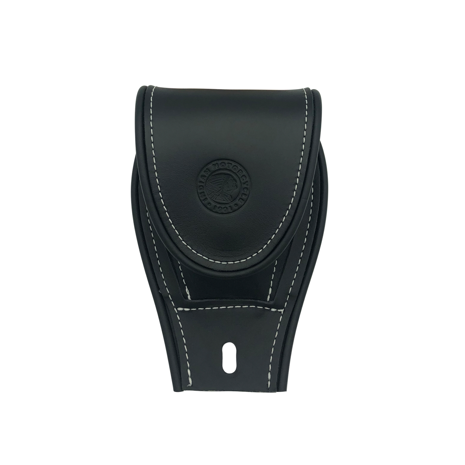 Genuine Leather Tank Pouch - Black