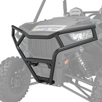 Front Deluxe Bumper, Black