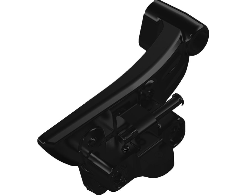 Adjustable Passenger Floorboard Mounts, Pair