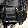 Genuine Leather Rear Highway Bar Bag, Black - Image 3 of 4