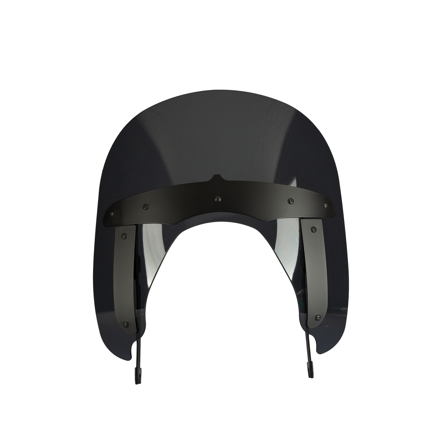 Polycarbonate 11.3 in. Quick Release Wind Deflector, Tinted