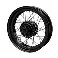 Rear Laced Wheel - Gloss Black