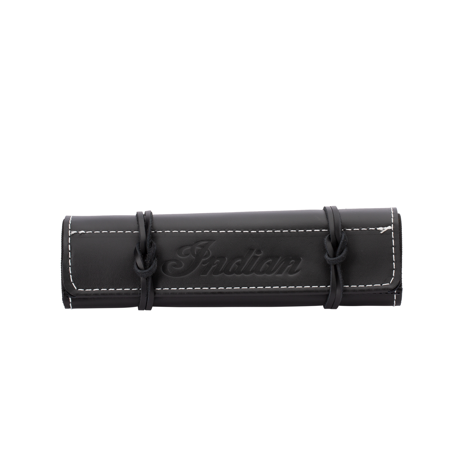 Genuine Leather Tool Roll Insert - Black