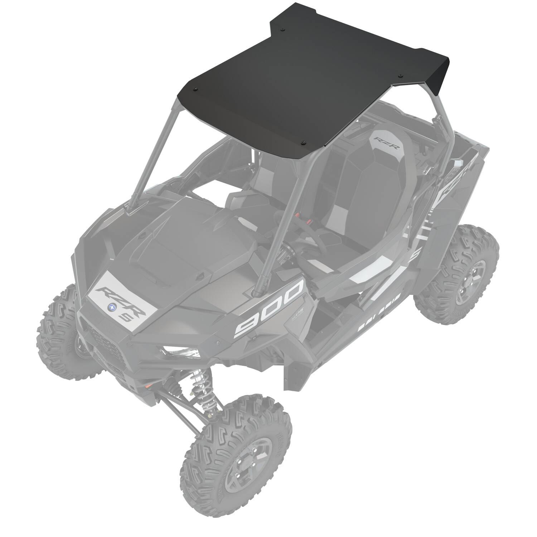 Aluminum 2 Seat Roof, Black