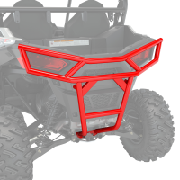 Rear Deluxe Bumper- Indy Red