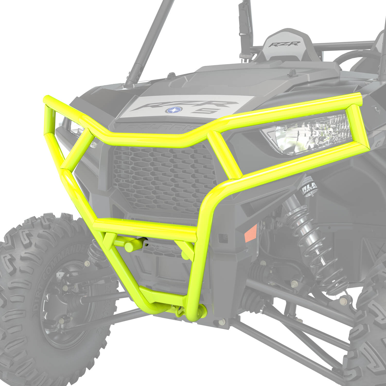 Front Deluxe Bumper- Lime Squeeze