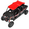 4-Seat Aluminum Roof- Red - Image 2 of 4
