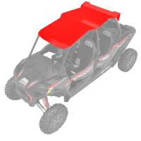 4-Seat Aluminum Roof- Red