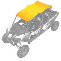 4-Seat Aluminum Roof- Spectra Orange