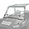 Polycarbonate Flip-Down Full Windshield, Clear - Image 1 of 5