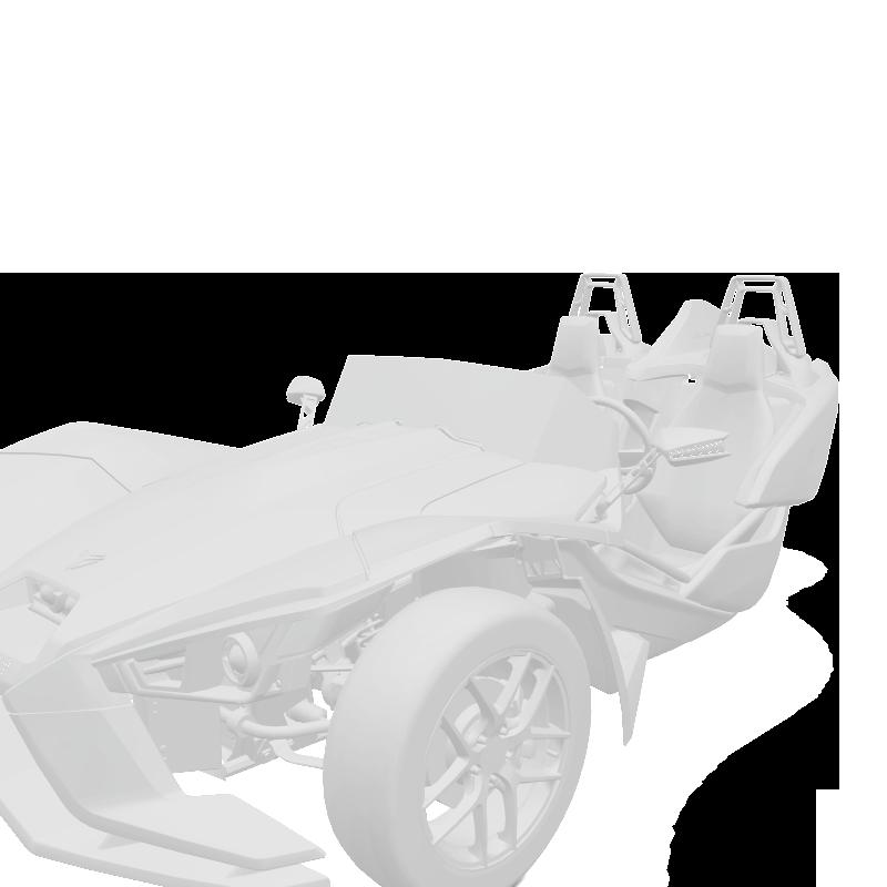 Rim & Mirror Decal Kit - Monument White