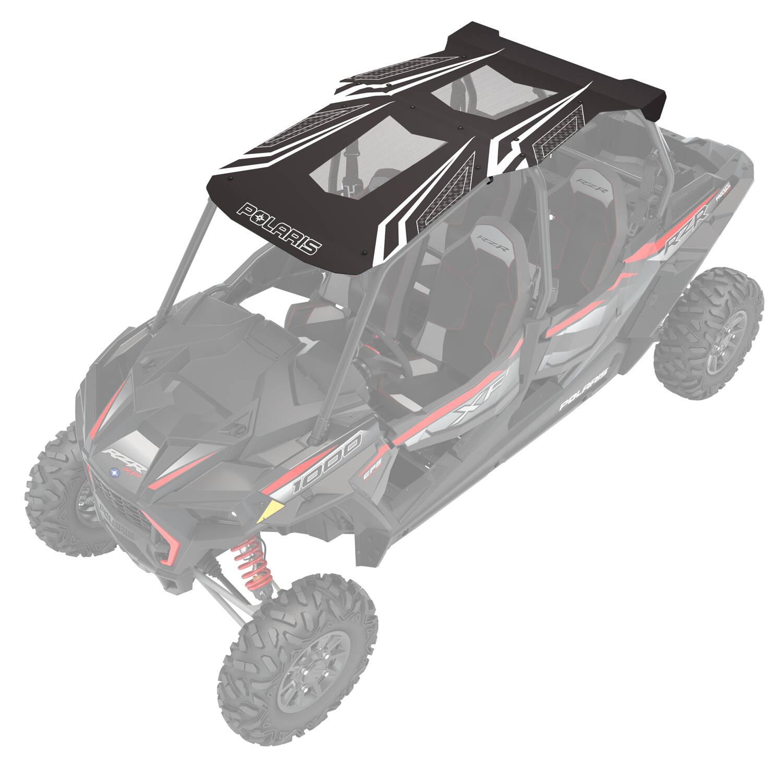 4-Seat Graphic Sport Roof- Black