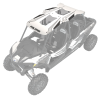 4-Seat Graphic Sport Roof- White - Image 2 of 6
