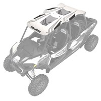 4-Seat Graphic Sport Roof, White