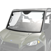 Glass Full Windshield with Lock & Ride® Technology, Clear