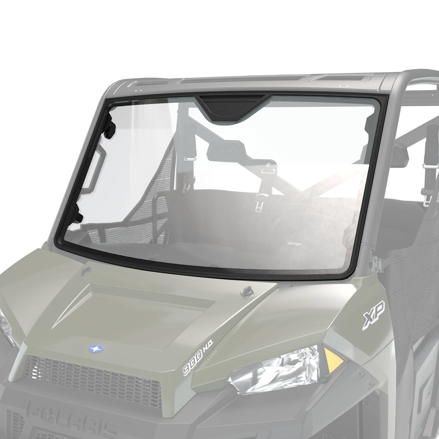 Glass Full Windshield With Lock Ride Technology Clear