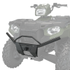 Steel Front Bumper with Mounting Light Holes, Black - Image 1 of 4