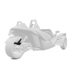 305MM Rear Fender - Monument White - Image 1 of 4