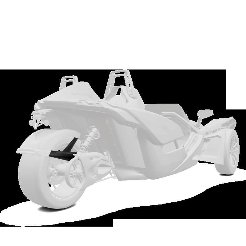 305MM Rear Fender - Monument White