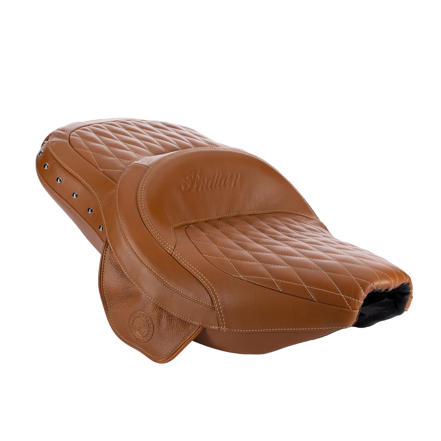 Genuine Leather Extended Reach Heated Seat - Desert Tan