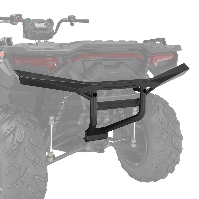 Ultimate Series Steel Rear Bumper, Black