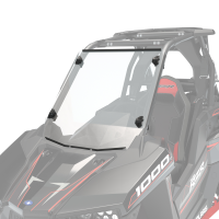 Lock & Ride® Full Windshield - Hard Coat Poly
