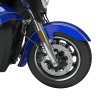 Open Front Fender - Blue Candy with Gold Strip - Image 2 of 3