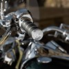 Select Handlebar Grips in Chrome, Pair - Image 3 of 4