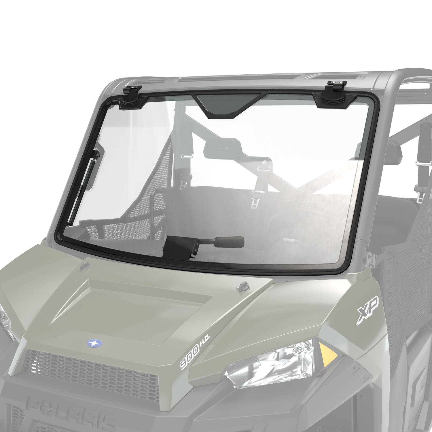 Pro Shield™ Glass Tip-Out Full Windshield, Clear