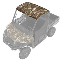 Poly 3-Seat Premium Roof with Lock & Ride® Technology with Liner, Polaris Pursuit® Camo