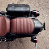 Genuine Leather Passenger Seat, Brown - Image 4 of 4