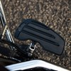 Rider Floorboards with Inlays in Gloss Black, Pair - Image 4 de 5