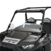 Hard Coat Poly Half Windshield with Lock & Ride® Technology, Clear - Image 3 of 6
