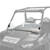 Hard Coat Poly Half Windshield with Lock & Ride® Technology, Clear - Image 2 of 6