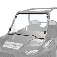 Hard Coat Poly Full Windshield with Lock & Ride® Technology, Clear