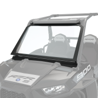 Glass Vented Full Windshield, Clear