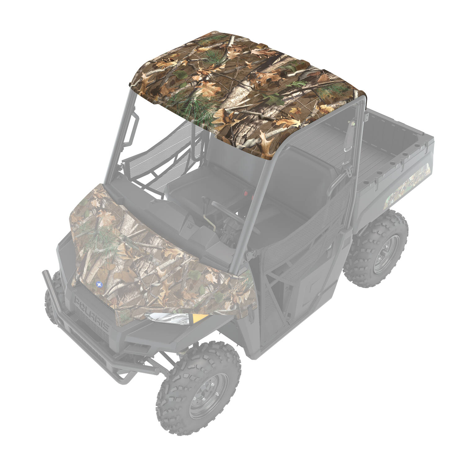 Sport Roof - Poly 2-Seat- Camo