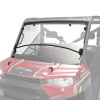 Pro Shield™ Lock & Ride® Flip Down Windshield - Hard Coat Poly by Polaris® Full