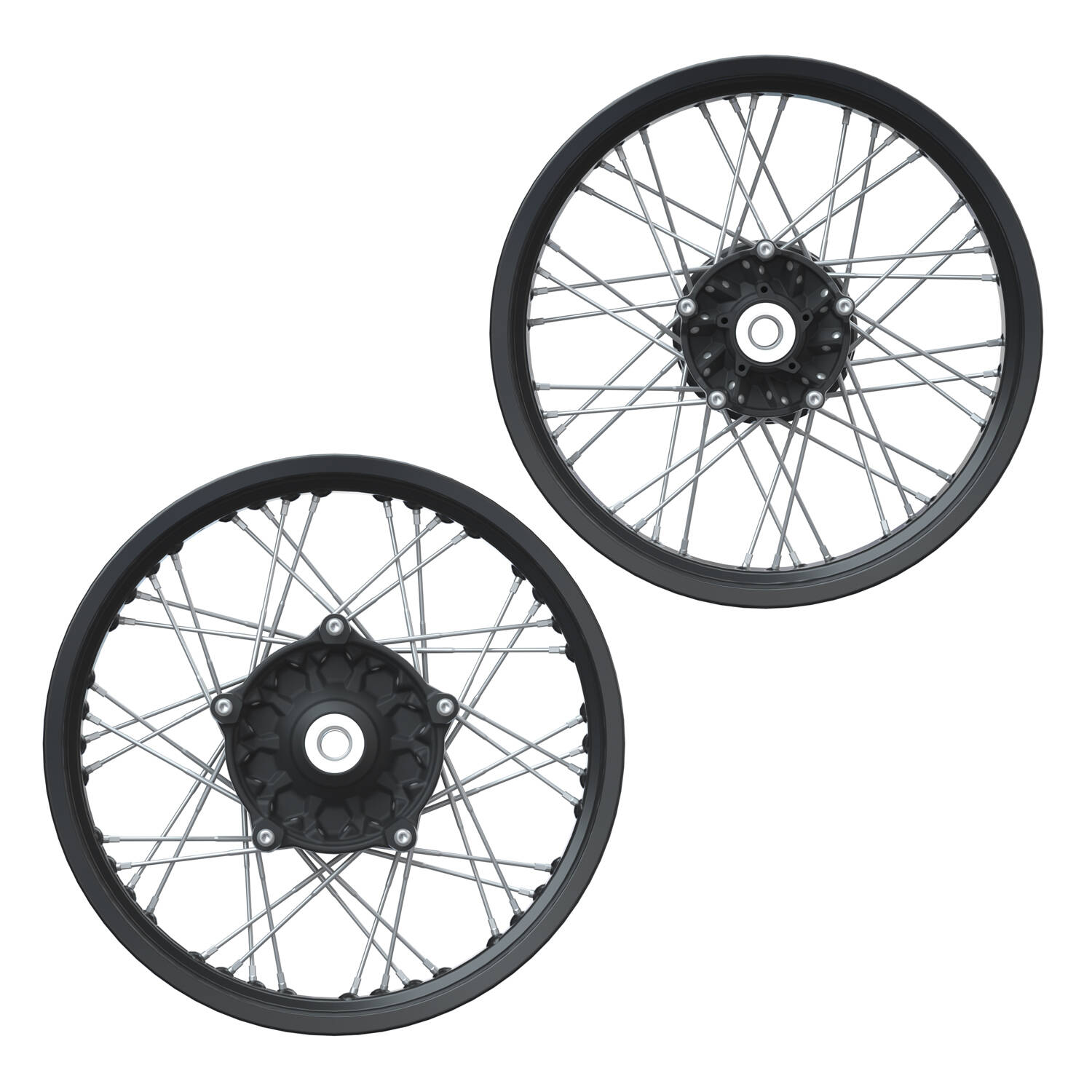Aluminum Spoke Wheel Set