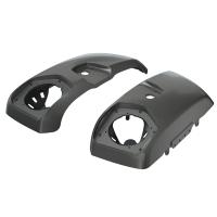 PowerBand Audio Saddlebag Speaker Lids in Titanium Metallic, Pair
