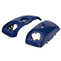 PowerBand Audio Saddlebag Speaker Lids in Deepwater Metallic, Pair