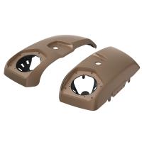 PowerBand Audio Saddlebag Speaker Lids in Sandstone Smoke, Pair