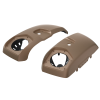 PowerBand Audio Saddlebag Speaker Lids in Sandstone Smoke, Pair - Image 1 of 4