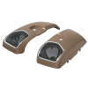 PowerBand Audio Saddlebag Speaker Lids in Sandstone Smoke, Pair - Image 2 of 4