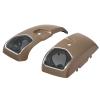 PowerBand Audio Saddlebag Speaker Lids - Sandstone Smoke - Image 2 of 4