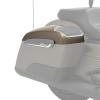 PowerBand Audio Saddlebag Speaker Lids - Sandstone Smoke - Image 4 of 4
