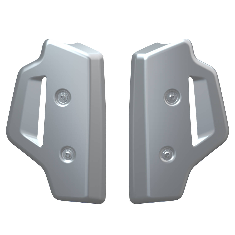 Aluminum Radiator Guards, Pair